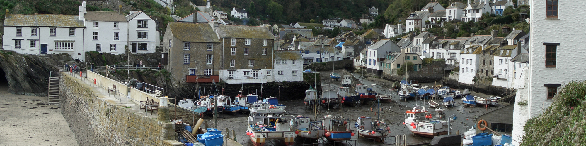 Talland House and Laity, Polperro, Cornwall